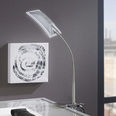 Strahler Klemm Spot Tisch Leuchte Werkbank Arbeitszimmer Lampe Flexo Büro Diele