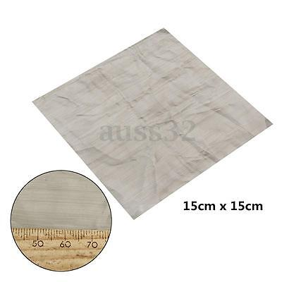 6x 6 500 Mesh 25 Micron 316 Stainless Steel Wire Cloth Screen Square Sheet