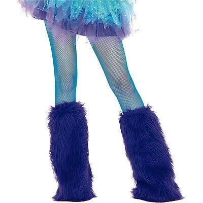 Neon Blue Fishnet Child Tights Leg Avenue Enchanted Costumes 4067NBL (Neon Blue Tights)