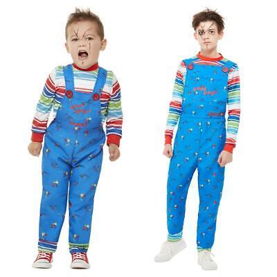 Boys Chucky Costume Childs Play Doll Halloween Child Fancy Dress