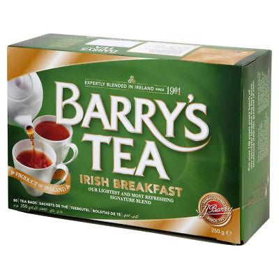 Barry's Tea Irish Breakfast Tea Bags - 80 count