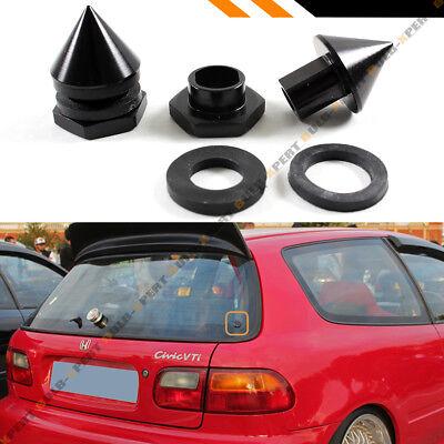 For 1992-95 Honda Civic Hatch Rear Windshield Glass Strut Hardware Repair Kit V2