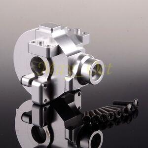 HSP 02051/02051T Upgrade Parts RC 1/10 Aluminum GEAR BOX HOUSING 102075 SILVER