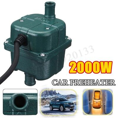 CAR ENGINE HEATER PARKING COOLANT PREHEATER 220V 2KW 2000W 70C FITS ALL CARS
