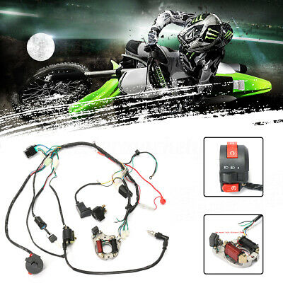 CDI Wire Harness Wiring Loom Coil Rectifier For 50 70cc 90cc 110cc ATV Quad