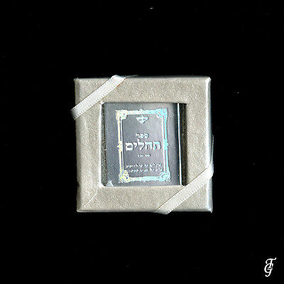 ~ JUDAICA TEHILIM /REAL HOLY BOOK MINIATURE  SILVER / 10 P