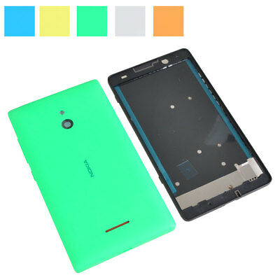 New For Nokia XL Full Housing Middle Frame Faceplate Back Battery Cover Case