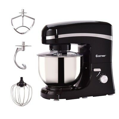 5.3qt 800W Home Kitchen Electric Food Stand Mixer with Stain