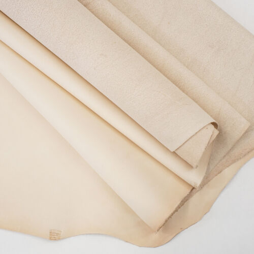 2-3 oz Sof-Tan Milled Veg-Tan Cowhide Leather   Rough Cut by SqFt