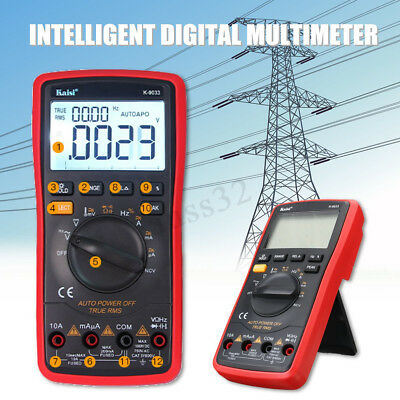 2 In 1 Upgraded Ks9033 Led Lcd Intelligent Digital Oscilloscope Multimeter Acdc