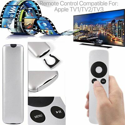 Replacement Universal Infrared Remote Control Compatible For Apple TV2/TV3 UK