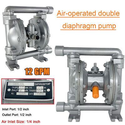Air-operated Double Diaphragm Pump 12 Inletoutlet Aluminum Alloy 115psi
