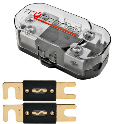 1/0 2 4 8 Gauge Dual ANL Fuse Holder Distribution Block and (2) 150 Amp ANL Fuse