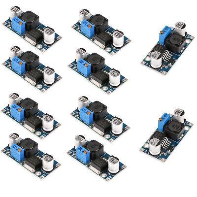 10pcs Lm2596 Dc-dc Buck Converter 3.0-40v To 1.5-35v Step Down Voltage Regulator