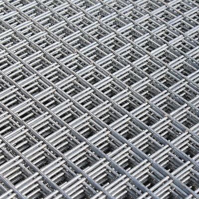 2x Welded Wire Mesh Panels 1.2x2.4m Galvanised 4x8ft Steel Sheet Metal 1