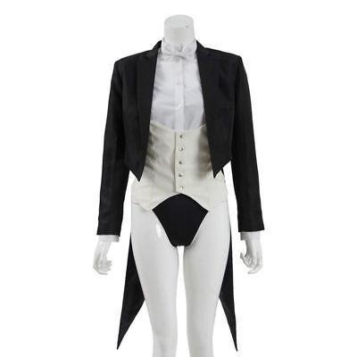 DC Comics Zatanna Zatara Cosplay Costume Superhero Suit Women Magician Uniform : - Zatanna Costume