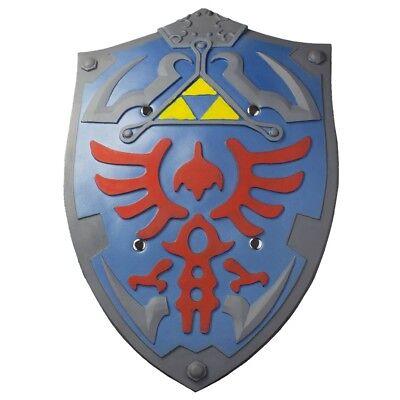 Links Hyrule Schild Polsterwaffe aus Zelda Hyrulian Shield Latexwaffe Kostüme