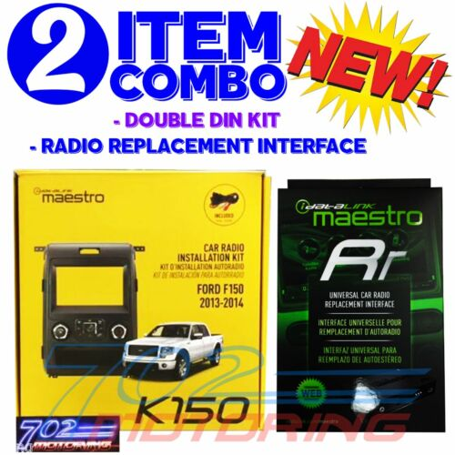 iDATALINK MAESTRO ADS KIT-K150 ADS-MRR RADIO INSTAL KIT 2010-2014 FORD ADS-F150