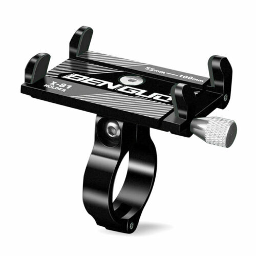 Handyhalterung Fahrrad Universal ALU Lenker Handy Smartphone Halterung Halter DE