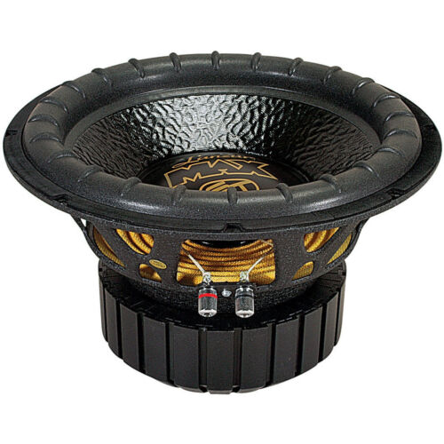 """NEW 12"""" inch Super Bass Home Subwoofer Replacement 4 Ohm High Excursion Woofer"""
