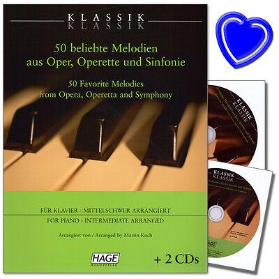 Klassik Klassik - 50 beliebte Melodien für Klavier - EH3709 - 9783866260757