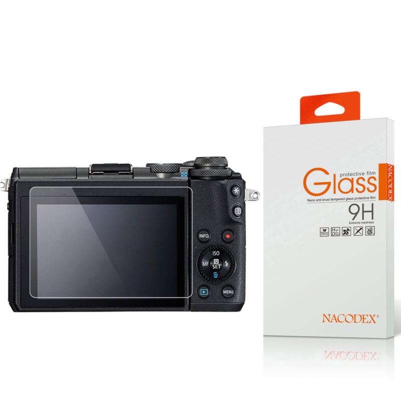Nacodex For Canon EOS M100 Tempered Glass Screen Protector