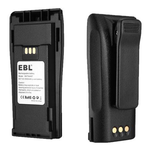 2500mAh NNTN4497 Li-ion Battery For Motorola CP200 EP450 PR400  Radio Radius USA