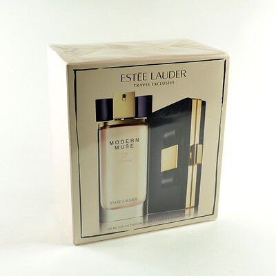 Estee Lauder Modern Muse 2 Pieces Gift Set - EDP 100mL & Limited Edition (Estee Lauder Limited Edition)