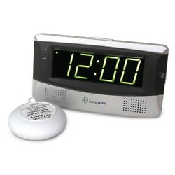 Sonic Alert SB300SS Extra Loud Boom Alarm Clock w/Bed Shaker & Large Display NEW