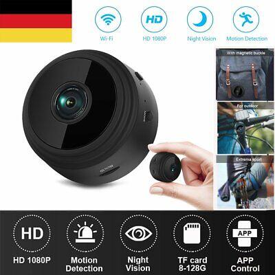 Mini IP Kamera HD 1080P Wireless Wifi Camera Überwachungskamera Wlan Netzwerk DE ()