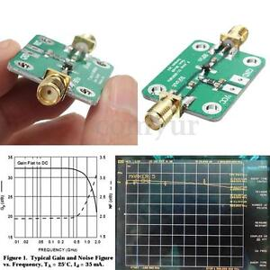 0.1-2000MHz 30dB Low Noise RF Amplifier LNA Broadband Module Receiver