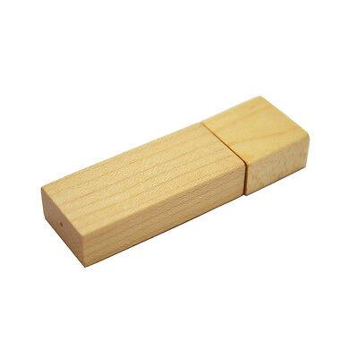 Holz Box steckbar Wood - Computer USB Stick 8 GB Speicher / USB Flash Drive