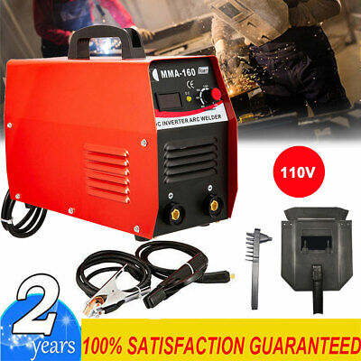 Inverter Welder 110v Mini Handheld Arc Welding Machine Tool Mma 20-160a Igbt Us