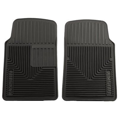 Husky Liners Floor Mats Front New Black Chevy Olds VW 61 Special 51061