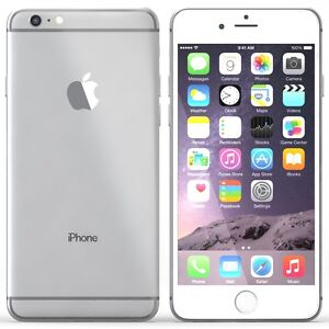 Silver iPhone 6 64GB in excellent condition