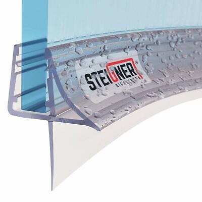 Duschdichtung gebogen Viertelkreis Runddusche Eckdusche Glastür Streifdichtung