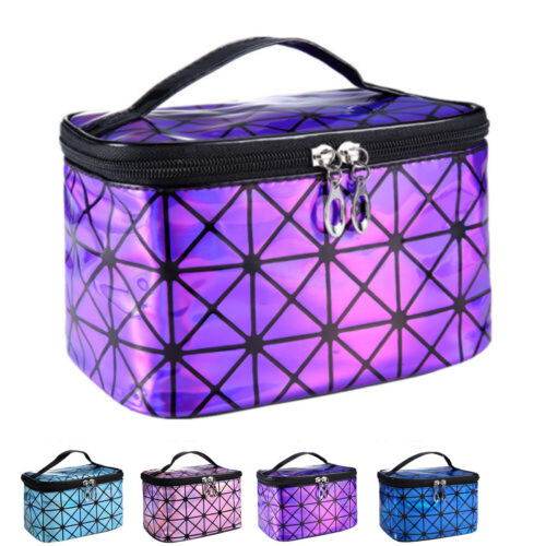 Women Multifunction Travel Cosmetic Bag Makeup Case Pouch Or