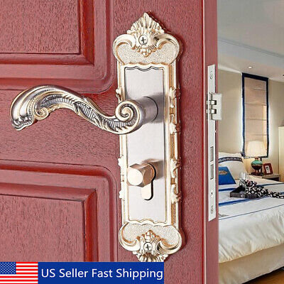 Continental Antique Security Home Door Entry Handle Dual Latch Lock Building & Hardware