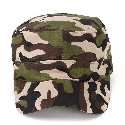 Damen Herren Mütze Kappe Basecap Baseball Cap Schiebermütze Camouflage M17356