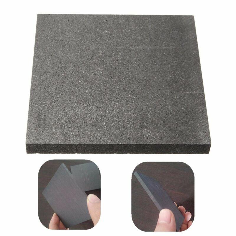 10x10x1cm 99.9% Pure Graphite Block Electrode Rectangle Plate Blank Sheet