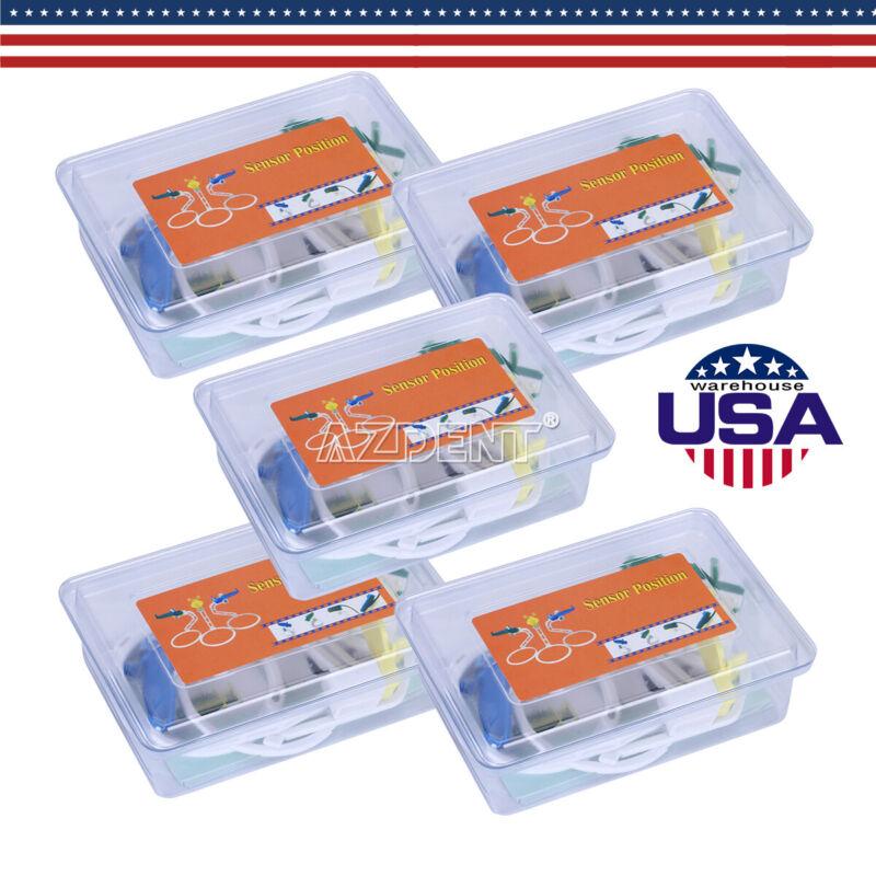 5 Packs Dental Digital X Ray Film Sensor Positioner Holder Left, Right, Upper US