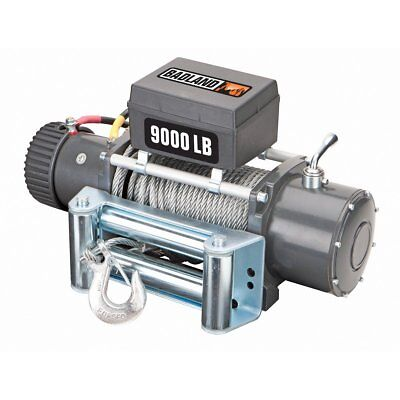 9000 lb. Off-Road Vehicle Electric Winch with Automatic Load-Holding Brake 9000 Lb Electric Winch