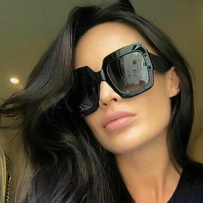 New Thick Frame Large Oversized Square Anoushka Bella Women Sunglasses (Thick Square Sunglasses)