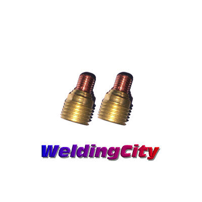 2-pk Tig Welding Gas Lens Collet Body 45v44 332 Torch 920 Us Seller Fast Ship
