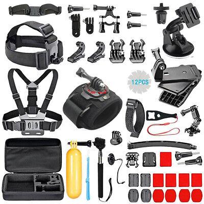 51 In 1 Accessories GoPro Hero 5 4 3 2 1 Bundle Camera Outdoor Sports Set Kit