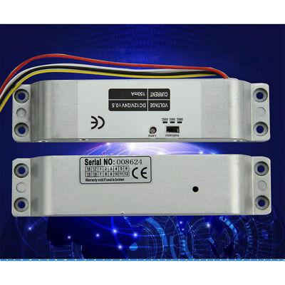 New Electric Bolt Lock Timer Drop Bolt Lock Fail-safe Electric Gate Door Lock --