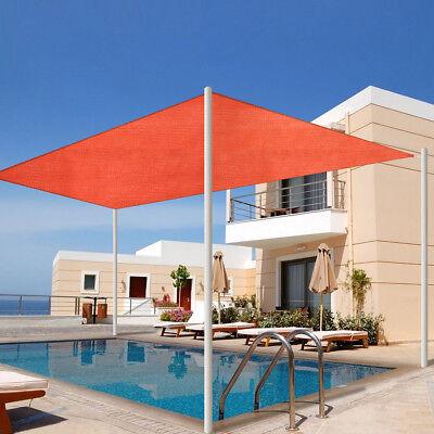 - Sun Shade Sail Permeable Outdoor Patio Deck Pool Canopy UV Top Rectangle
