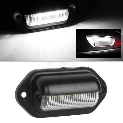 Universal 5000K White LED License Plate Lights Tag Lamp for Truck Pickup