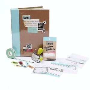 Hobbycraft Smash Scrapbook Bundle Album Embellishment Kit Papercraft Journal