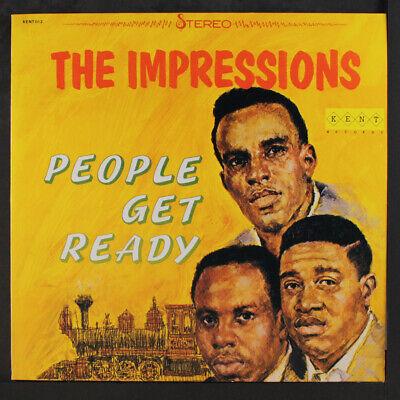 IMPRESSIONS: People Get Ready LP (UK) Soul